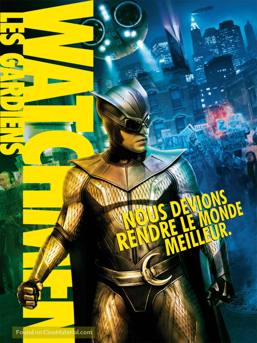 Watchmen - French Movie Poster
