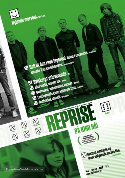 Reprise - Danish Movie Poster