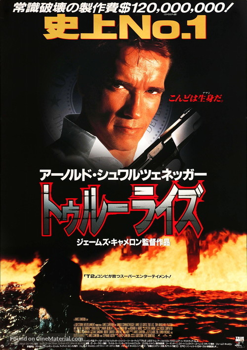 True Lies 1994 Japanese Movie Poster