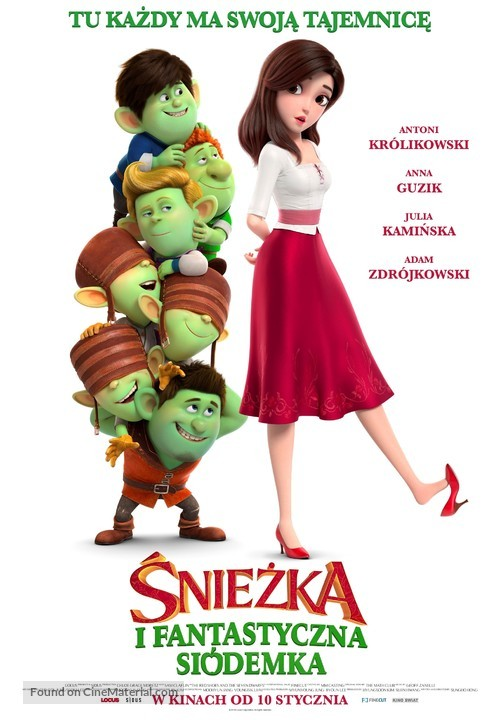 Red Shoes & the 7 Dwarfs - Polish Movie Poster