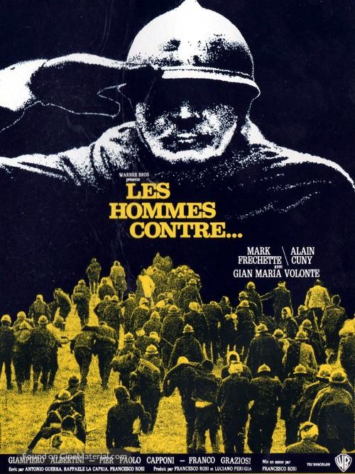 Uomini contro - French Movie Poster