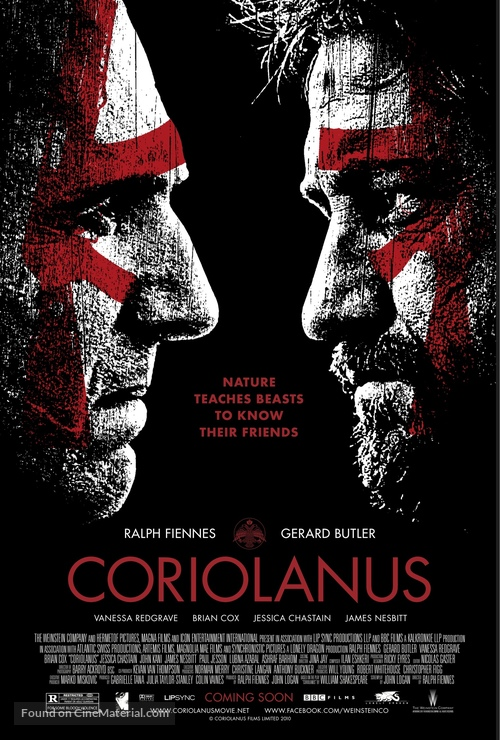 Coriolanus - Movie Poster