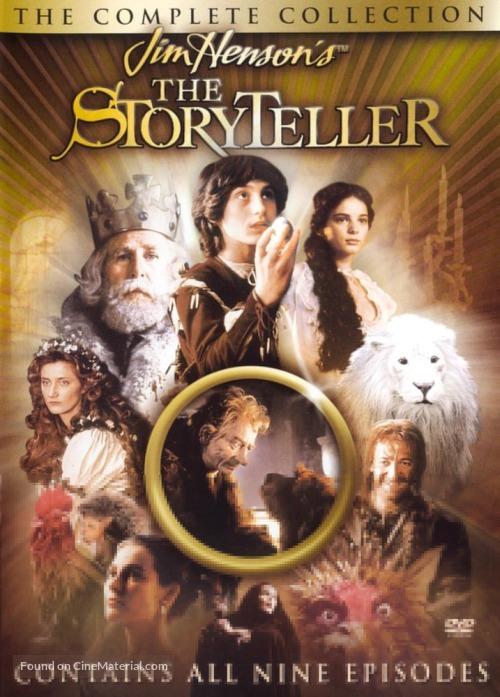 """""""The Storyteller"""" - DVD movie cover"""