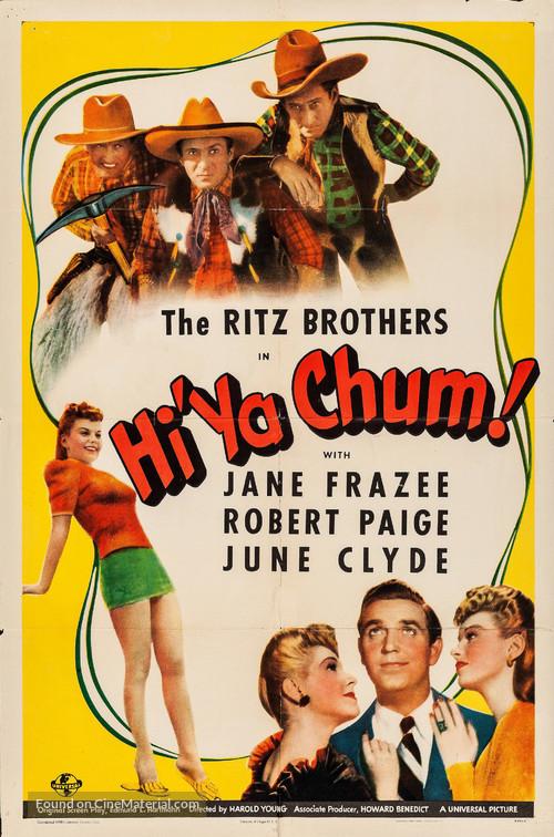 Hi'ya, Chum - Movie Poster