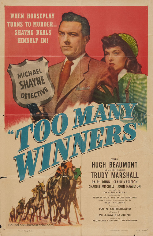 Too Many Winners - Movie Poster