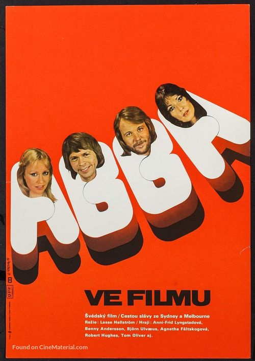 ABBA: The Movie - Czech Movie Poster