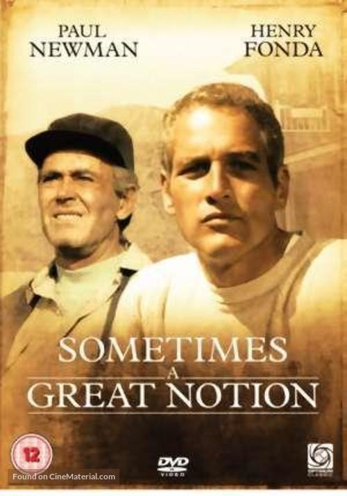 Sometimes a Great Notion - British DVD movie cover