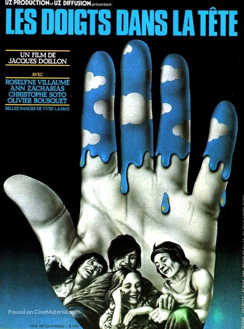 Doigts dans la tête, Les - French Movie Poster
