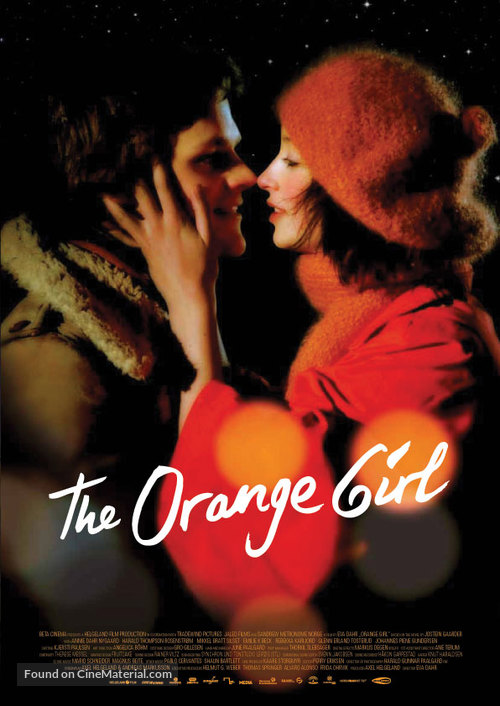 Appelsinpiken - British Movie Poster