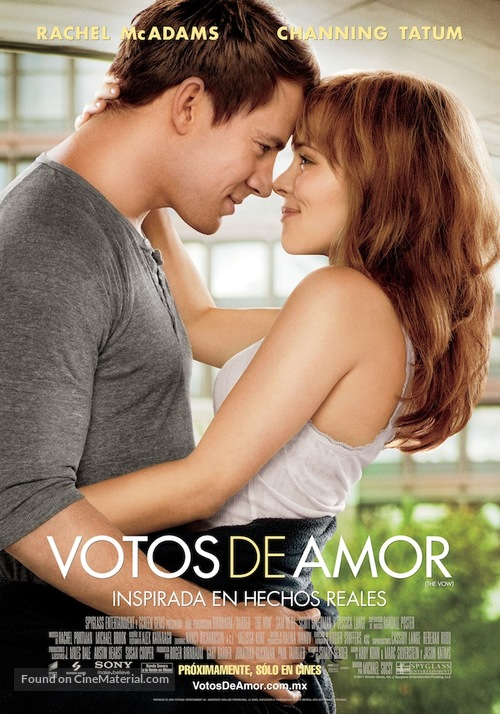 The Vow - Mexican Movie Poster