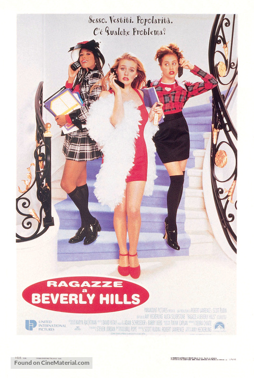 Clueless - Italian Movie Poster