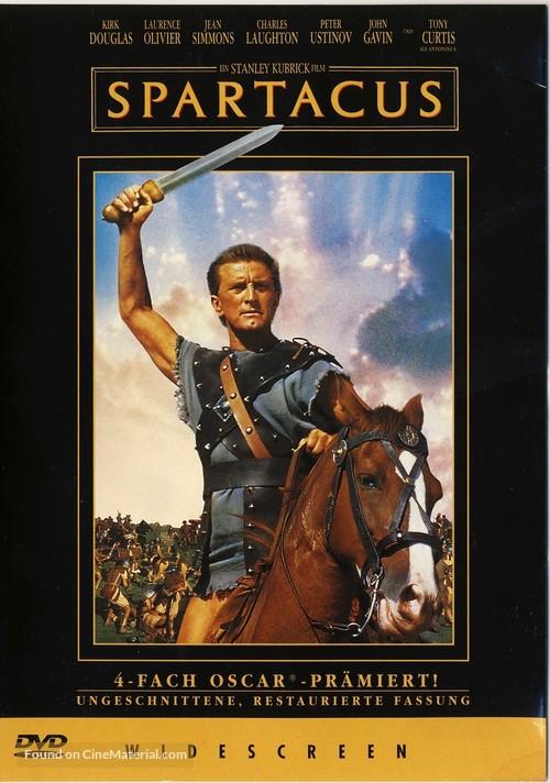 Spartacus - German Movie Cover