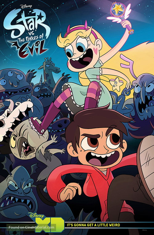 """""""Star vs. The Forces of Evil"""" - Movie Poster"""