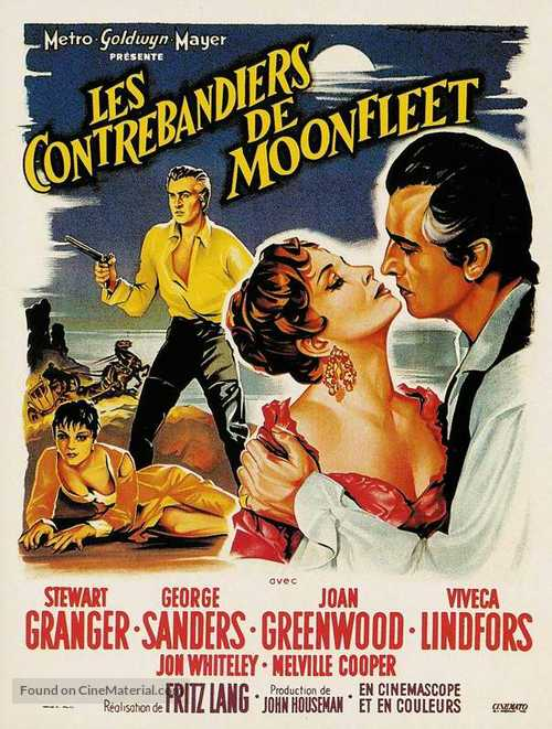 Moonfleet - French Movie Poster