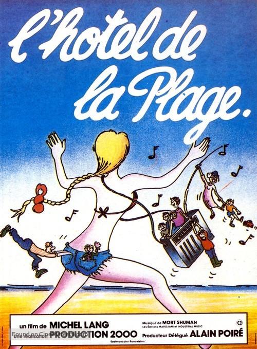 L'hôtel de la plage - French Movie Poster