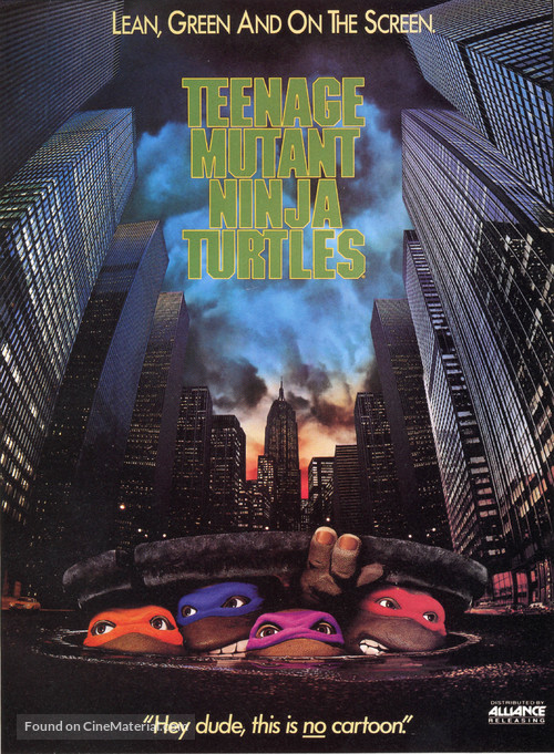 Teenage Mutant Ninja Turtles - DVD cover