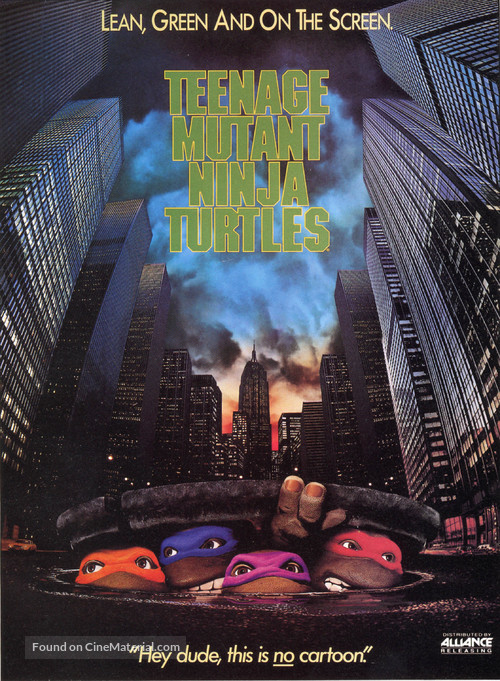 Teenage Mutant Ninja Turtles - DVD movie cover