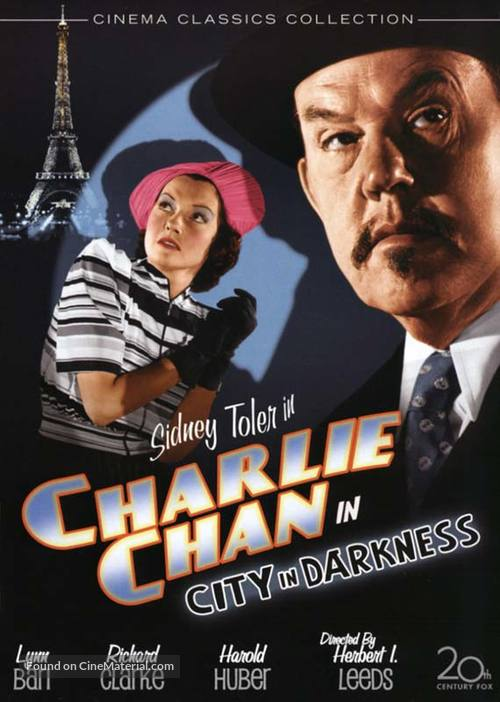Charlie Chan in City in Darkness - DVD movie cover