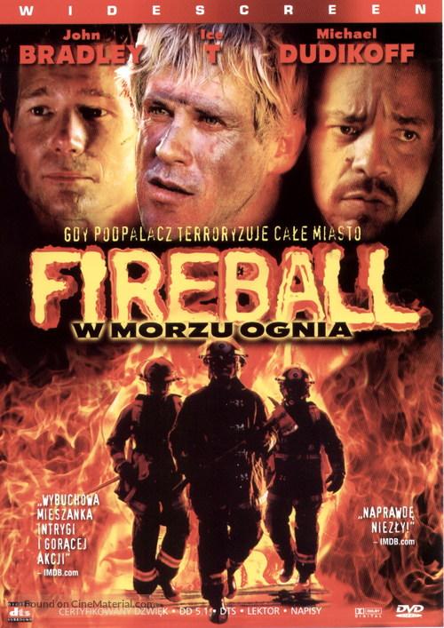 Ablaze - Polish DVD movie cover
