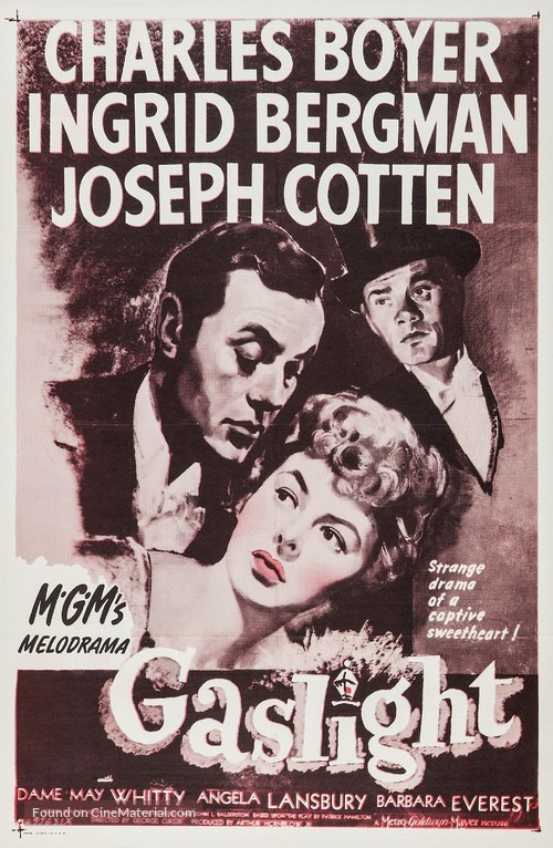 Gaslight - Re-release movie poster
