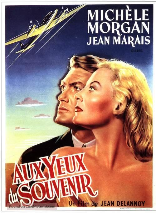 Aux yeux du souvenir - Belgian Movie Poster