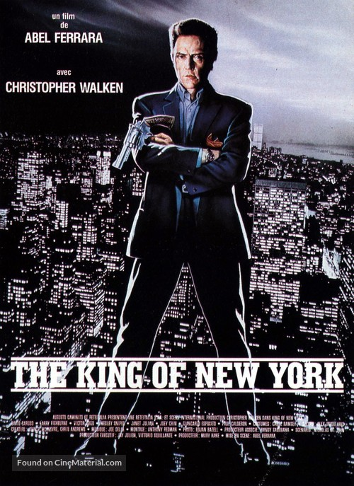King of New York - French Movie Poster