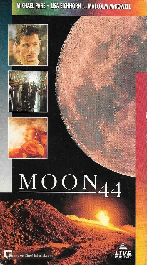 Moon 44 - VHS movie cover