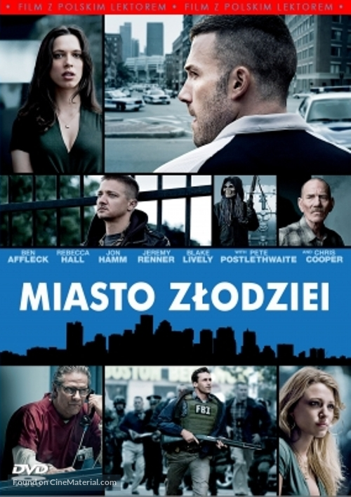 The Town - Polish Movie Cover