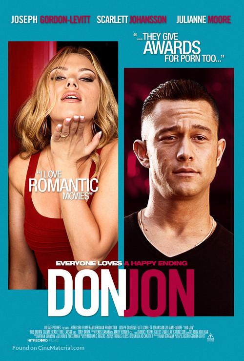 Don Jon - Danish Movie Poster