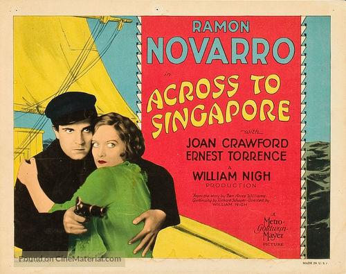 Across to Singapore - Movie Poster