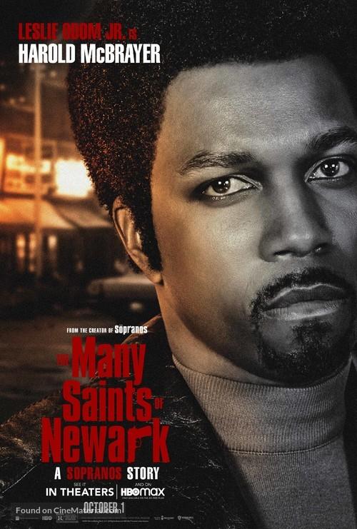 The Many Saints of Newark - Movie Poster