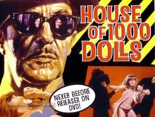 La casa de las mil muñecas - British Movie Poster