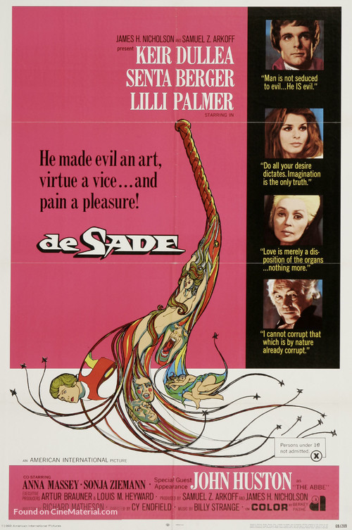 De Sade - Movie Poster