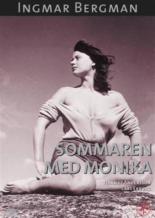 Sommaren med Monika - Swedish DVD movie cover