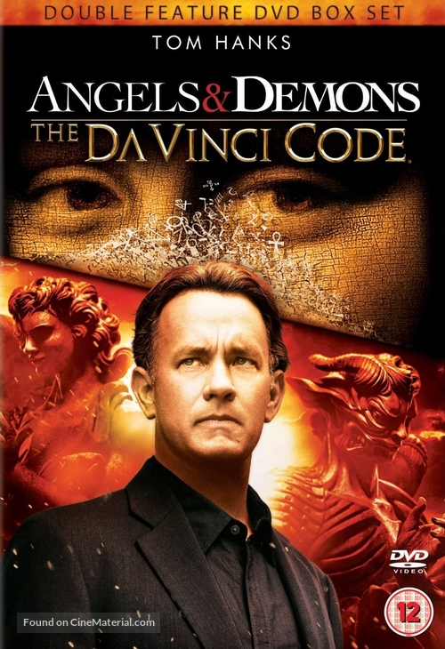 The Da Vinci Code 2006 British Dvd Movie Cover