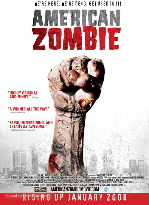 American Zombie - Movie Poster