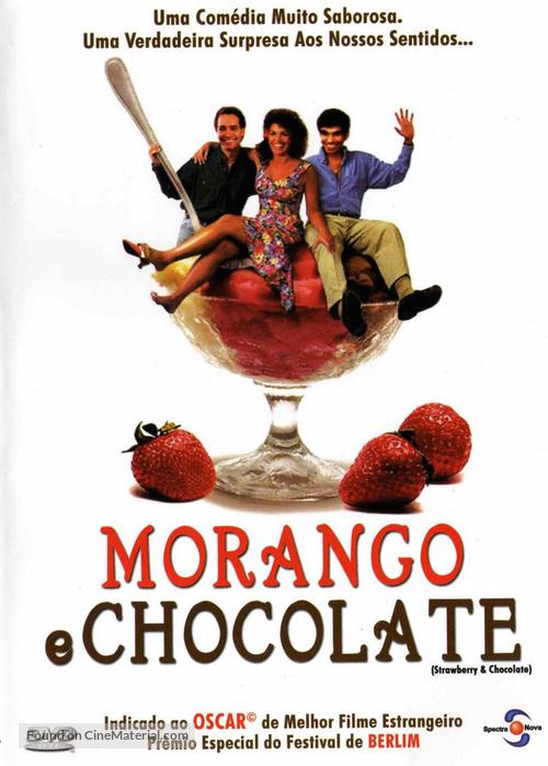 Fresa y chocolate - Brazilian Movie Cover