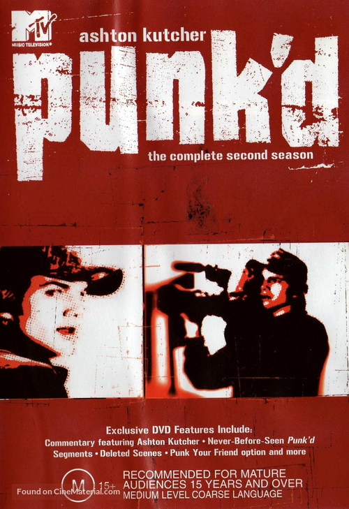 """Punk'd"" - Australian DVD movie cover"