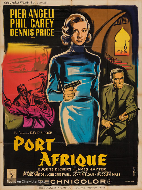 Port Afrique - French Movie Poster