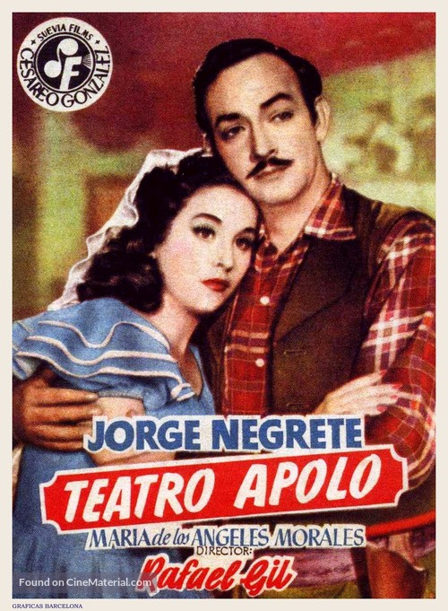 Teatro Apolo - Spanish Movie Poster
