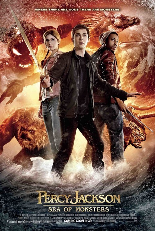Percy Jackson: Sea of Monsters - Movie Poster