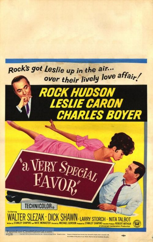 A Very Special Favor - Movie Poster