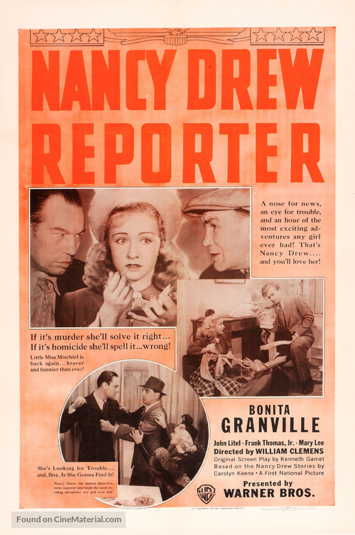 Nancy Drew... Reporter - Movie Poster