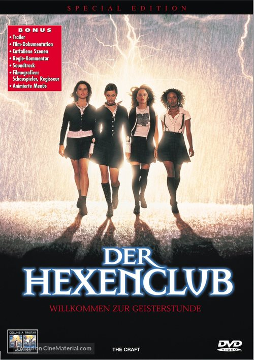 The Craft - Swiss Movie Cover