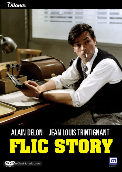 Flic Story - Italian Movie Cover