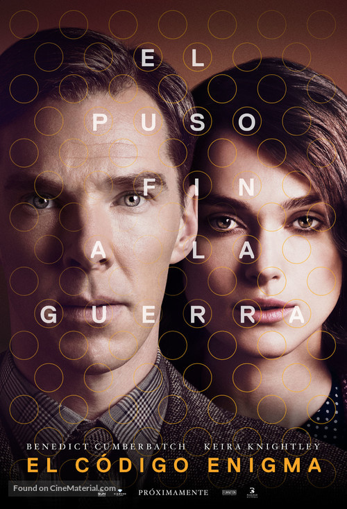 The Imitation Game - Argentinian Movie Poster
