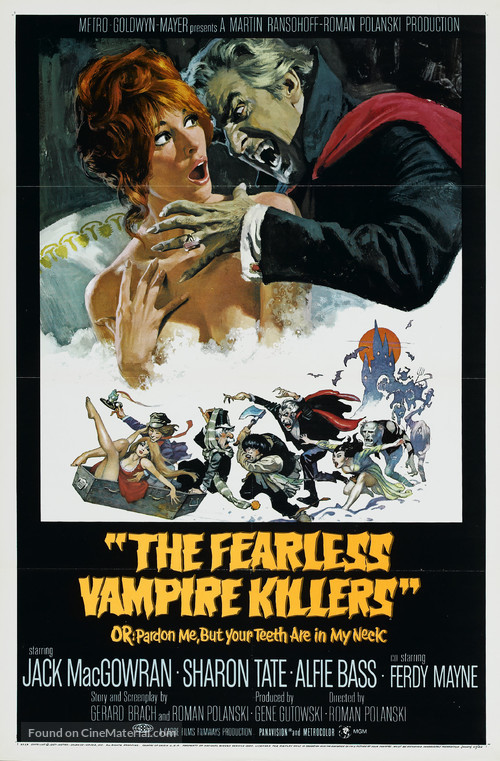Dance of the Vampires - Movie Poster
