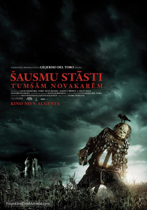 Scary Stories to Tell in the Dark - Latvian Movie Poster
