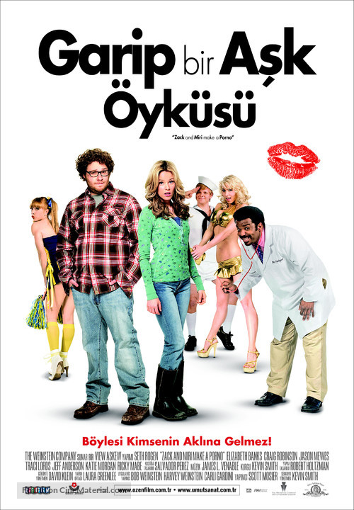 Zack and Miri Make a Porno - Turkish Movie Poster