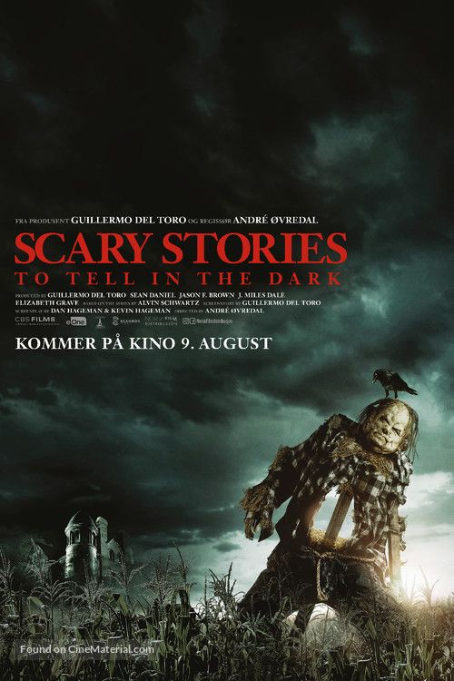 Scary Stories to Tell in the Dark - Norwegian Movie Poster